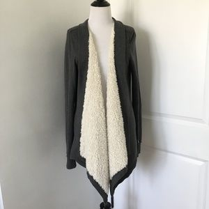 Gilly Hicks Sweaters - Gilly Hicks Sherpa Cardigan